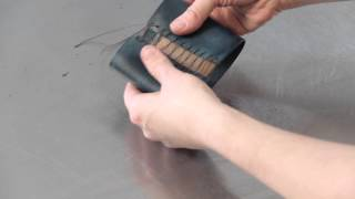 D.I.Y. Leatherwork Flask Kit