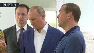 بوتين يقترح تحويل القرم إلى مكة