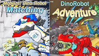 Dino Robot Matching + Dino Robot Adventure | Eftsei Gaming