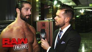 Seth Rollins accepts Bray Wyatt