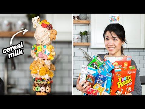We Mixed 22 Cereals To Make Ice Cream