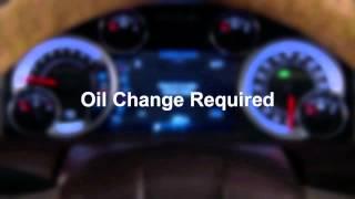 2014 Ram Truck   Change Oil Message