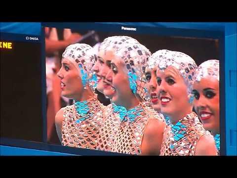 London Olympics 2012 Synchronized Swimming Team Spain