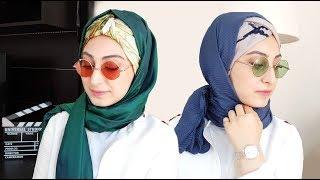 Farklı Baş Bağlama Stilleri Bandana Şeklinde | Hijab Tutorials