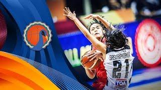 Thailand v China - Full Game - FIBA U16 Women's Asian Championship 2017