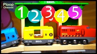 BRIO Toys Learn Numbers COMPILATION Quality Toy Trucks & Toy Trains - Plan Toys Videos for kids