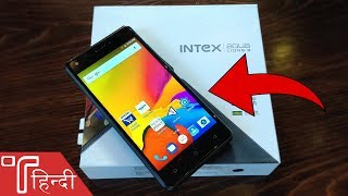 Intex Aqua Lions 3 Unboxing and Hands On review in HINDI [Price, Specs & Camera]