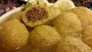 كبه  البرغل السلق (العراقيه) بالطعم اللذيذ والرائع مطبخ شاي مهيل الشيف ام محمد