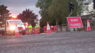 Road works in Clevedon 26.04.2017