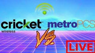 Cricket Wireless VS MetroPCS Review W/TechRight