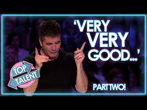 Simon Cowell's FAVOURITE EVER USA Auditions PART TWO! X Factor, Got Talent and Idols | Top Talent