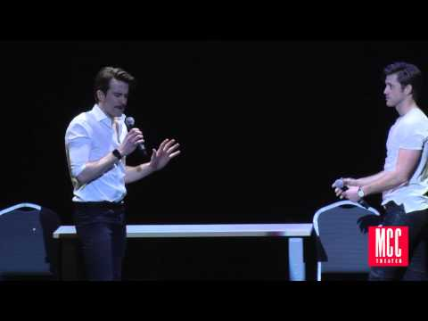 """Aaron Tveit and Gavin Creel Sing """"Take Me or Leave Me"""" from RENT at MCC Theater MISCAST Benefit"""