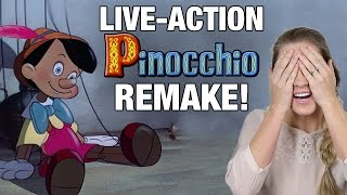 Live Action PINOCCHIO Remake Movie Announced by Disney   Rotoscopers