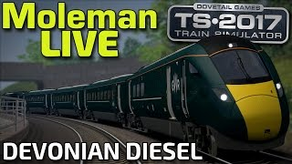 Train Simulator 2017 | Devonian Diesel! | GWR Class 800 (Moleman Live)