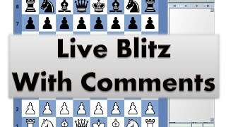 Blitz Chess #2381 with Live Comments Kings Gambit vs asdghjrtyiop with Black