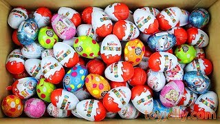 New Surprise Eggs Surprise Kinder Joy For Boys Girls Unboxing Learn Colors Play doh Paw Patrol Toys