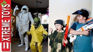 Monster Battle Royale! Sneak Attack Squad Vs Halloween!