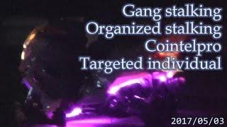 集団ストーキング被害者の記録 2017.5.3 part1 Gang-stalking Organized-stalking Cointelpro Targeted Individuals