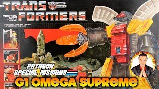 Patreon Special Missions: 1985 G1 Transformers Omega Supreme