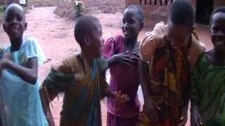Girls Dancing at Ivungwe, Tanzania