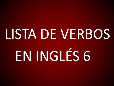 Inglès Americano - Lista de Verbos 6 (Lección 176)