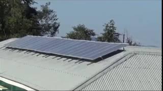 5 KWP SOLAR POWER PLANT