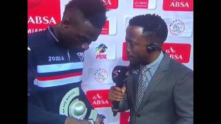 Ghanaian striker Anas Mohammed thanks wife and girlfriend for his two goals in a game