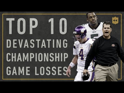 Top 10 Most Devastating Championship Losses of All Time Vault Stories