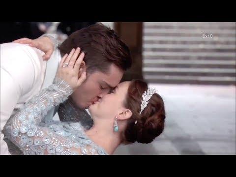 All Chuck and Blair Kiss Scenes (S1-S6) – Gossip Girl [HD]
