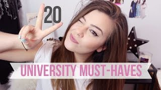 20 THINGS YOU NEED TO GET FOR UNIVERSITY | AD