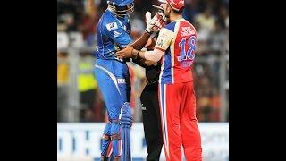 KOHLI -POLLARD-STARC  FIGHT IN IPL-EXCLUSIVE VIDEO