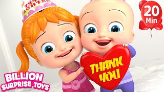 Johny Johny Yes Papa - 3D Animation Nursery Rhymes Compilation Songs for Children