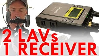 1 Receiver, 2 Wireless Lav Mics: Saramonic UX9/UX10 Review