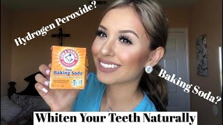 How To Whiten Your Teeth Naturally at Home for $5! (Baking Soda)