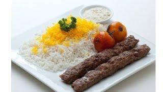 PERSISCH / IRANISCH KABAB mit REIS und SALAT kochen AKOthePERSIANkiller