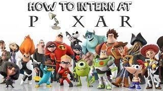 How to Get a Pixar Internship