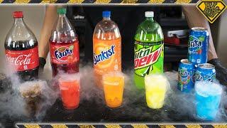Turn Soda into Slushies