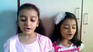 THE JUNGLE BOOK SONG BY RIYA PRIYA  jungle jungle baat chali hai...