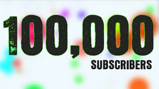 100,000 SUBSCRIBERS!!! Agario Best Moments Montage by Sirius