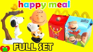 2015 McDonalds Happy Meal Toys Peanuts Movie with Snoopy Full Set