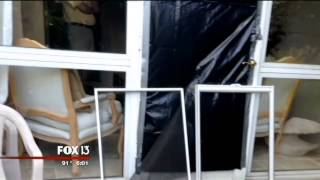 Bay area woman chases off burglar with gun