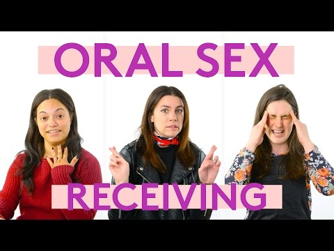 Women's Thoughts During Oral Sex | Receiving