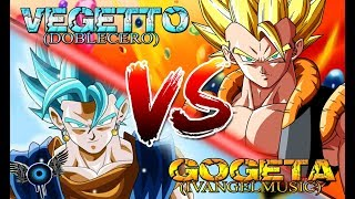 VEGETTO VS GOGETA RAP - IVANGEL MUSIC FT DOBLECERO | DRAGON BALL RAP