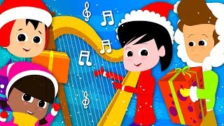 Deck The Halls   Christmas Carols   Xmas Songs   Video For Kids And Babies