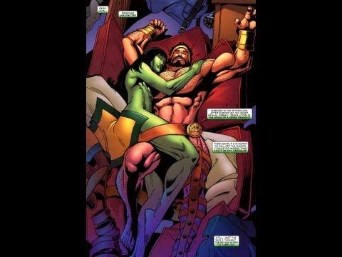 The She Hulk XXX Parody with Hulk Theme Music and Surprise