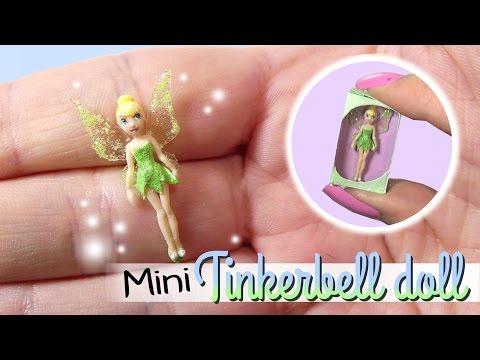 Miniature Tinkerbell Doll Tutorial // DIY Barbie Tinkerbell Doll
