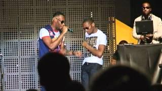 D'Prince Performs Give It To Me ft D'Banj; Samklef, D'Prince & Wizkid Noni