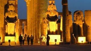 معبد الكرنك بالاقصر الصوت والضوء عربى كامل رائع