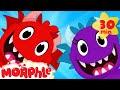 Download Lagu My Pet Monster Makes a Friend - Monster, Dinosaur, Shark, animations for kids