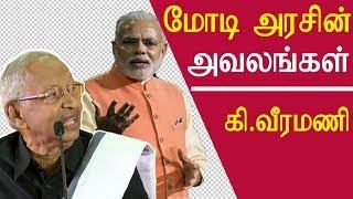 Ki veeramani speech on periyar and modi government